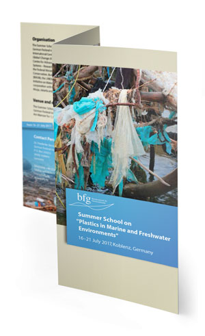 """Flyer Summer School on """"Plastics in Marine and Freshwater Environments"""""""